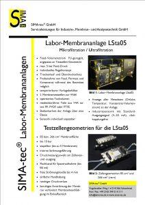 Laboranlage LSta05