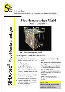 Pilotanlage PSta05