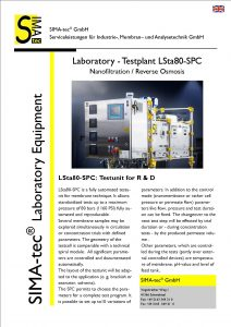 Laboratory Testunit: LSta80-SPC
