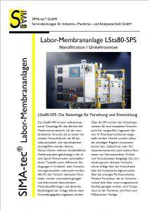 Laboranlage LSta80-SPS