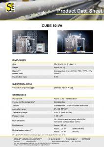 Data Sheet CUBE80-VA