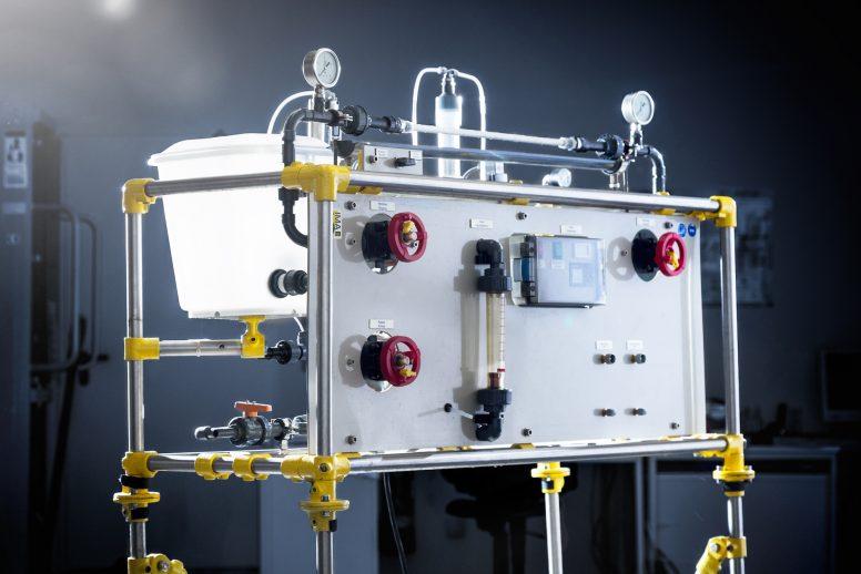 Labormembrantestanlage für Rohrmodule (LRo04)