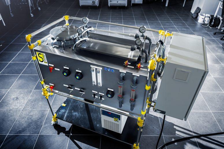Labormembrantestanlage für Rohrmodule (LRo05-2)