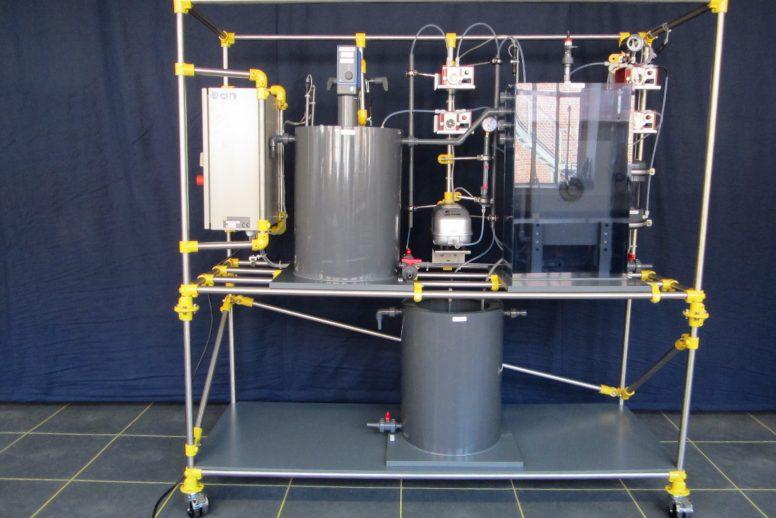 Membranbioreaktor-Testanlage (MBR)