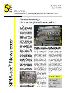 Newsletter Nr. 7