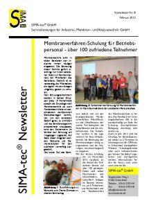 Newsletter Nr. 8