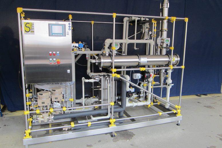 Membrantestanlage für Pilotversuche (PSta06-SPS)