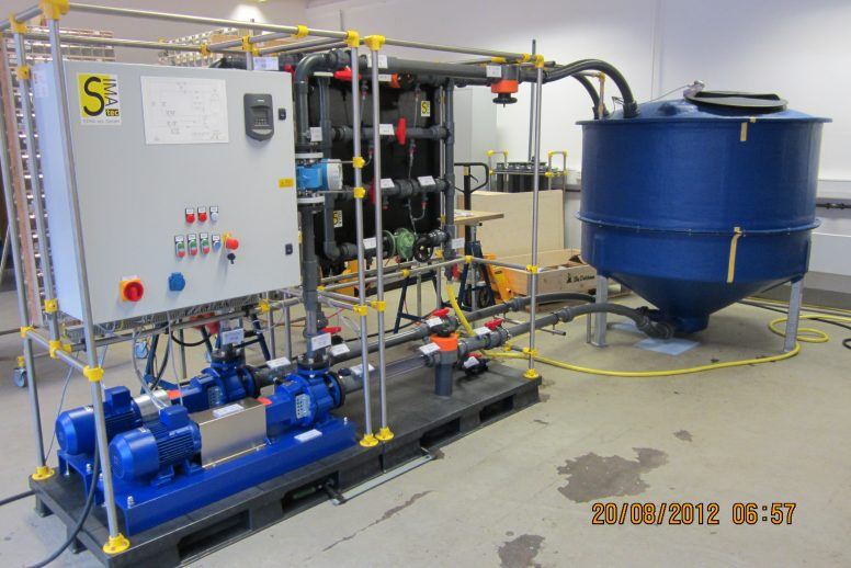 Pump- and Valve Test Rig
