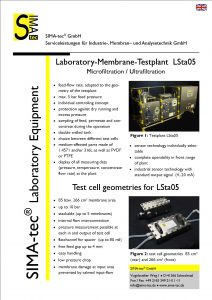 Laboratory Testunit LSta05