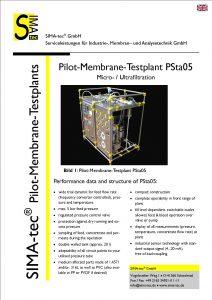 Pilot Testunit PSta05