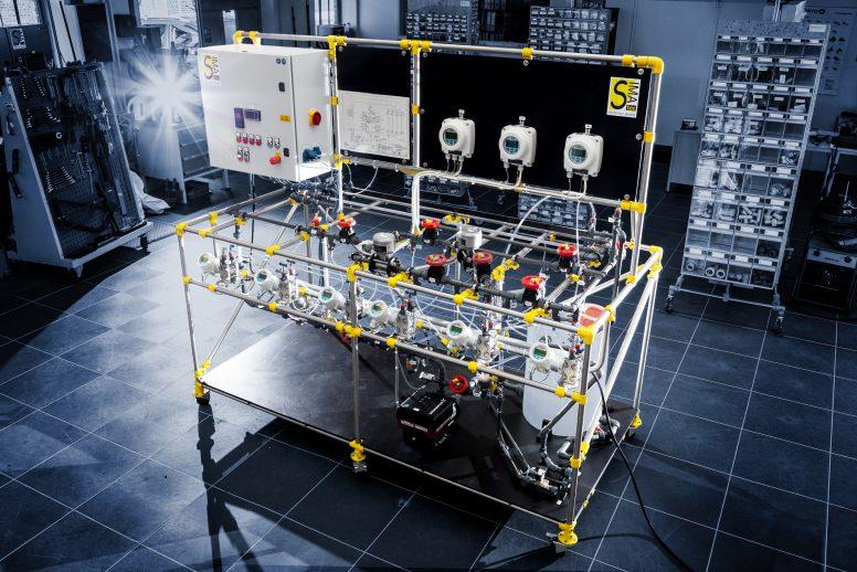 Test bench: Fluid dynamics