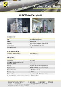 Data Sheet CUBE05-VA Plexiglas®