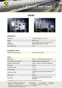 Data Sheet LRo04