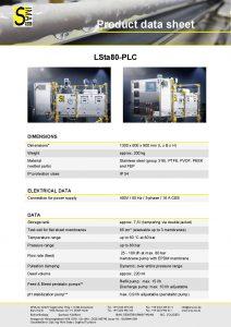 Data Sheet LSta80-PLC