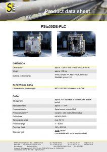 Data Sheet PSta30DE-PLC