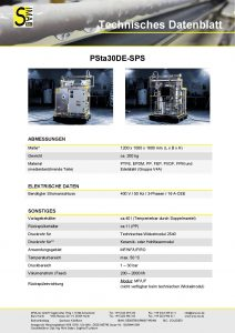 TD PSta30DE-SPS