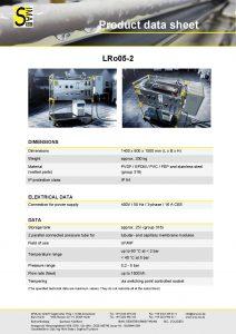 Data Sheet LRo05-2