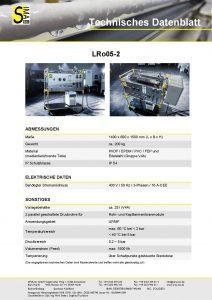 Technisches Datenblatt LRo05-2