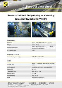Data Sheet LSta05-PAC-HF