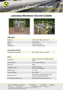 Data Sheet LSta05