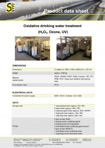 DS Oxidative drinking water treatment
