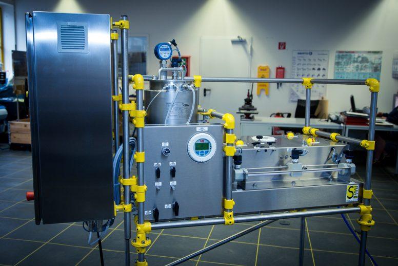 Forschungsanlage mit schnell pulsierenden oder alternierenden Tangentialströmungen (LSta05-PAC-HF)