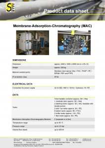 DS Membrane Adsorption Chromatography