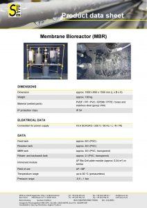 Data Sheet Membrane Bioreactor