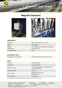 DS Magnetic Separator
