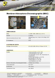 TD Membran-Adsorptions-Chromatographie