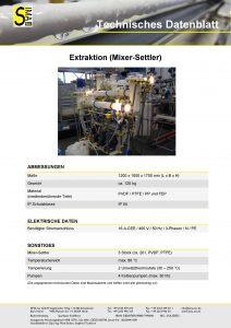 TD Extraktion (Mixer-Settler)