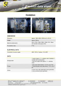 Data Sheet Oxidation