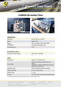 DS Cube05-VA Hollow fibre