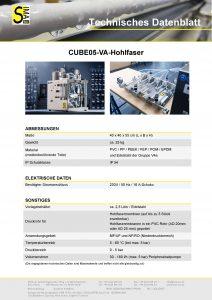 TD Cube05-VA Hohlfaser
